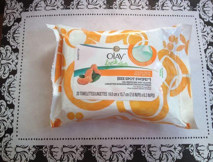 Olay Fresh Effects Clear Skin Oil-Reducing Wet Cloths 20 Ct  | eBay
