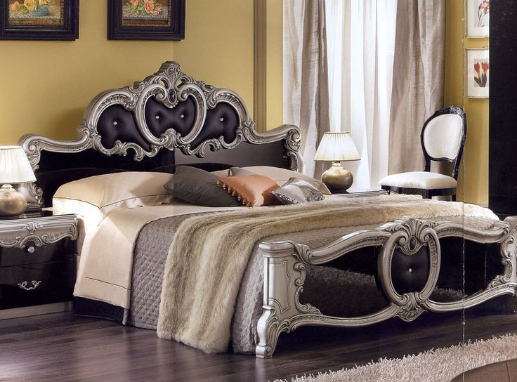 Glossy Bed Headboard  Antique Table Lamps  Italian Bedroom Furniture. 232 best Antique Furniture images on Pinterest