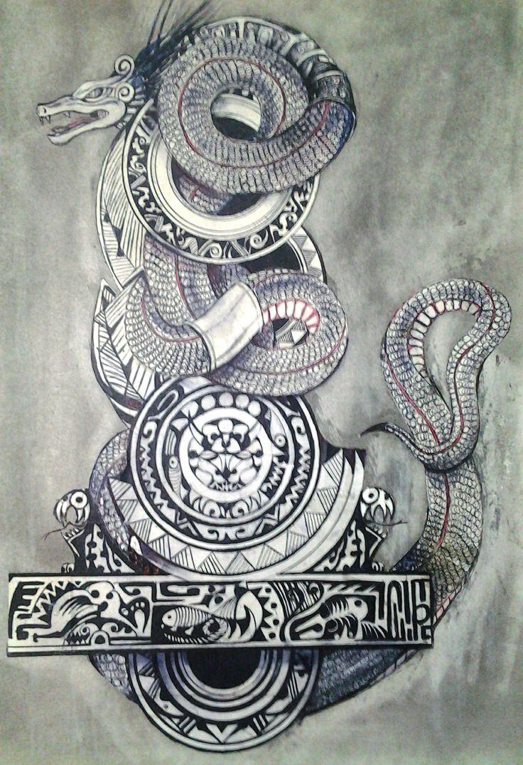 Disenio de tatuaje por Mauricio Pinilla