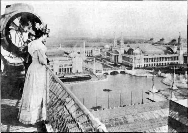 The 1893 World's Columbian Exposition was such a major event in Chicago that one of the stars on the city flag honors it. Among other innovations, the six-month-long fair showcased Juicy Fruit Gum, Shredded Wheat and Quaker Oats and put the blue ribbon on Pabst Beer.