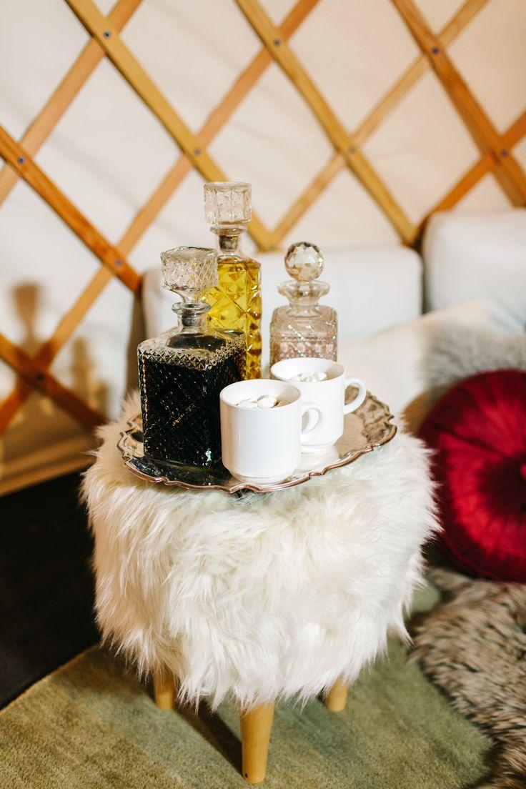 #hotchocolate and alcohol @weddingchicks
