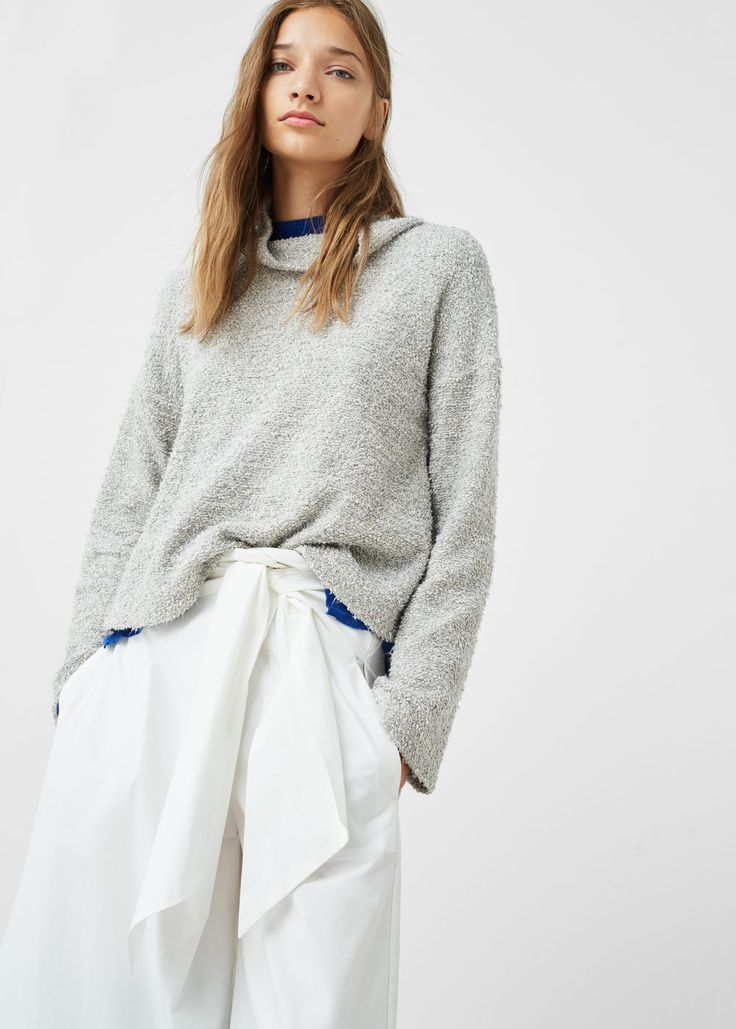 Funnel neck sweater | MANGO