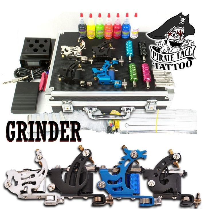 4 Gun Machine Tattoo Starter Kit for $99.99