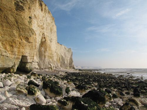 Hoping to be there in September-Seaford Head chalk cliffs looking towards Seven Sisters, England, UK