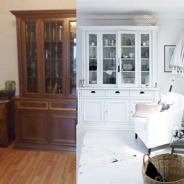 vorher nachher der schrank hat einen langen weg hinter sich er wurde vor paar jahren. Black Bedroom Furniture Sets. Home Design Ideas