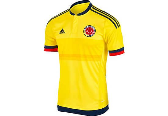 Kids adidas Colombia Home Jersey 2015