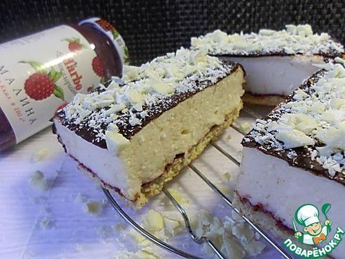 """Торт """"Птичье молоко"""" с необычным суфле - кулинарный рецепт"""
