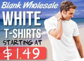 blank wholesale white t shirt sale