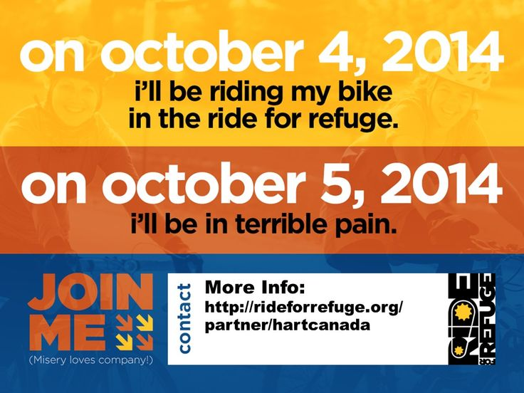 Ride for Refuge in support of HART