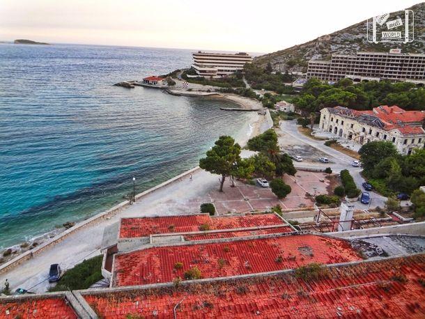 Abandoned Beach Resorts Due to War Zone in Kupari Croatia