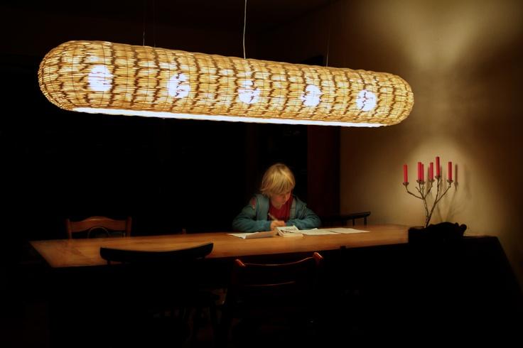 Mozes - light - eco - design- dutch- lamp - inside and outdoors