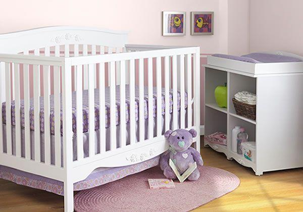Garden 4 Piece Room in a Box White #furniture #nursery