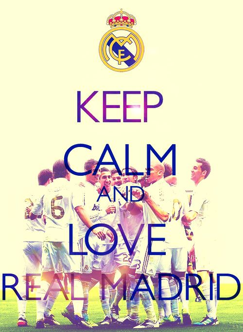 ...and love Real Madrid