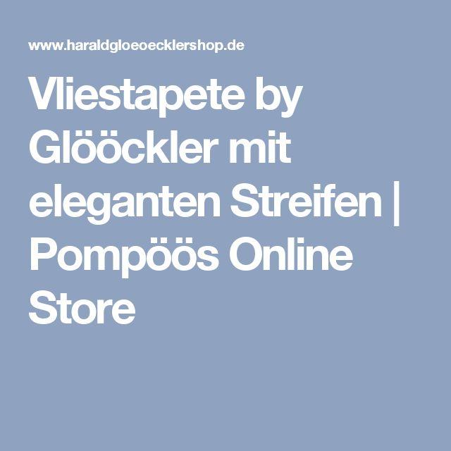 Vliestapete by Glööckler mit eleganten Streifen | Pompöös Online Store