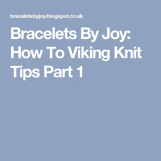 18 best Viking knit images on Pinterest | Viking knit, Wire crochet ...