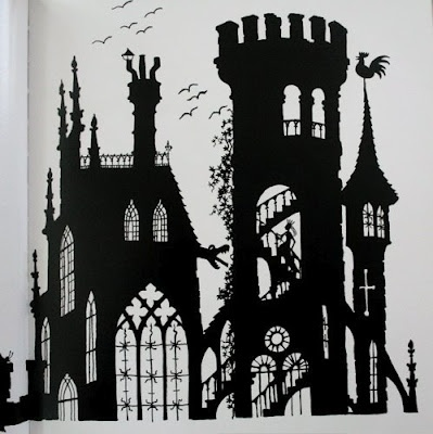 "Illustration from Jan Pienkowski's ""The Fairy Tales"""