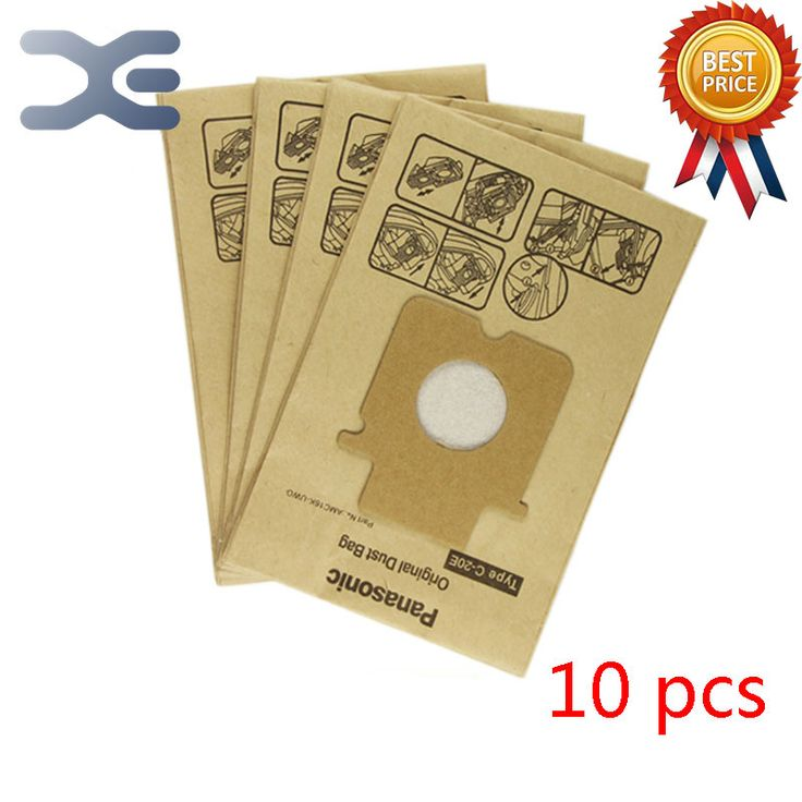 10Pcs High Quality Compatible With Panasonic Vacuum Cleaner Accessories Garbage Cleaner Paper Bag MC-E7101 / E7302 / E7111  EUR 12.13  Meer informatie  http://ift.tt/2nyvU8f #aliexpress