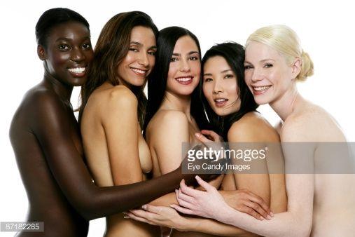 racially mixed female porn