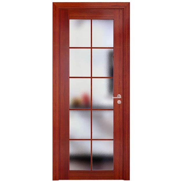 Foto de Cereza modernos Puertas interiores con vidrio y chapa de madera en es.Made-in-China.com