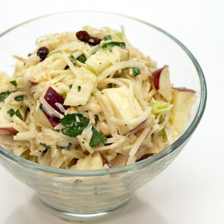 Salade de pommes, de céleri-rave et d'Emmental Riviera