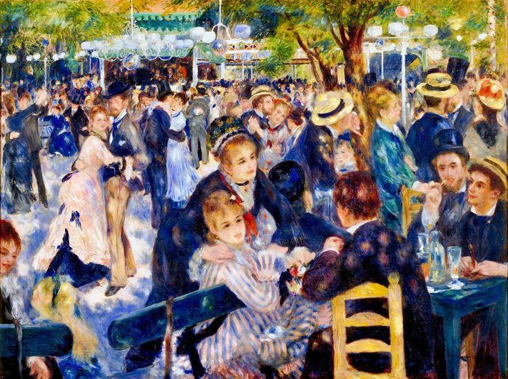 Auguste Renoir Bal Du Moulin De La Galette 1876 Paris Musee D