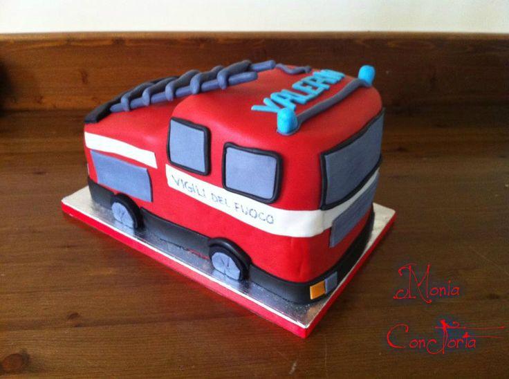 Camion dei pompieri: Desserts, Dei Pompieri, Cakes, Children, Camion Dei
