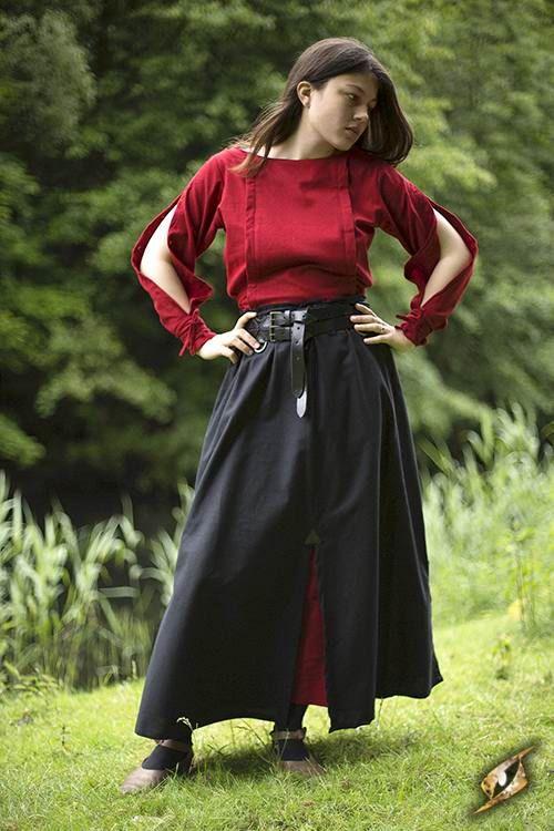 Battle Skirt - Black