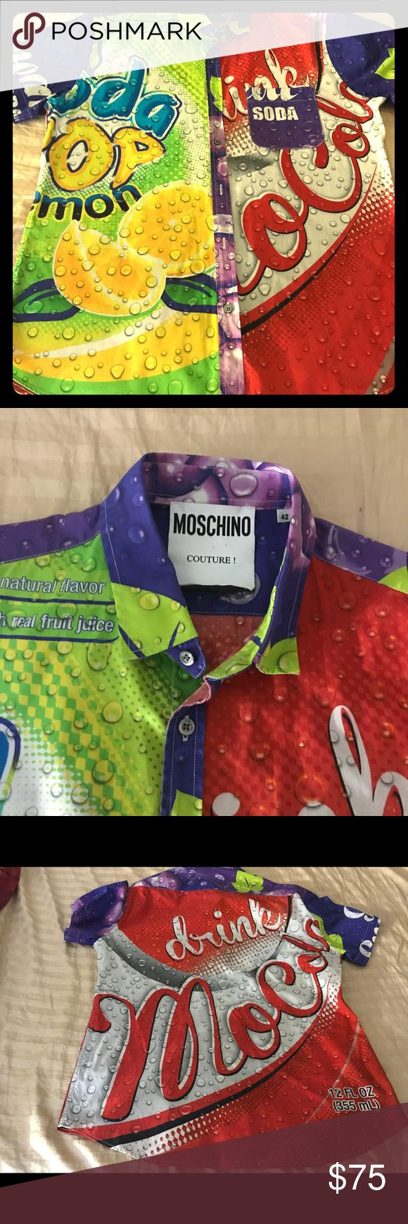 Moschino Moschino Soda Collection size 42 Moschino Shirts Dress Shirts