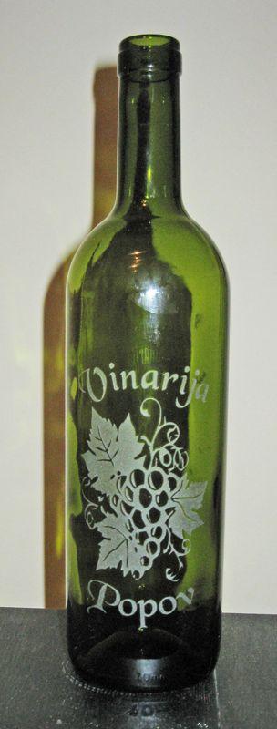 Sandbalsted bottle