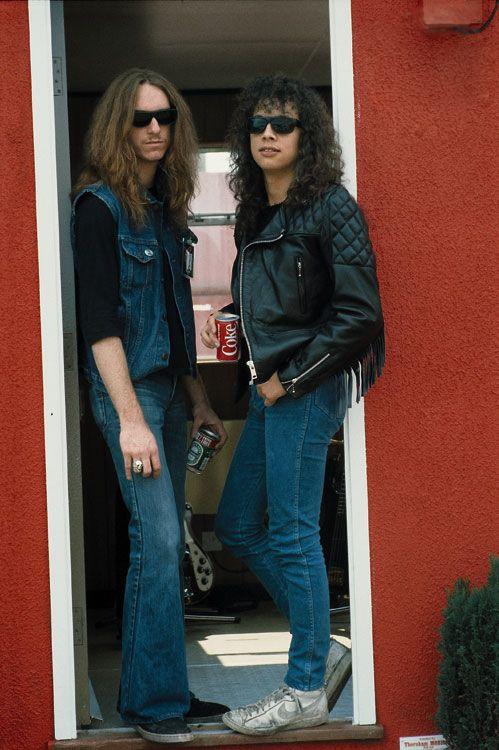 Cliff Burton and Kirk Hammett - Metallica