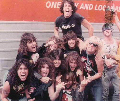 Members of Testament, Slayer & Suicidal Tendencies