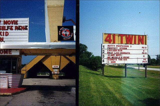 41 Twin Drive In Theater - Franklin, WI by Stone and Cedar, via Flickr, drive in theaters