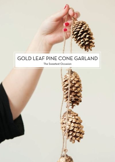 DIY HOLIDAY DECOR on @Kelly Teske Goldsworthy Teske Goldsworthy Beall / Design Crush