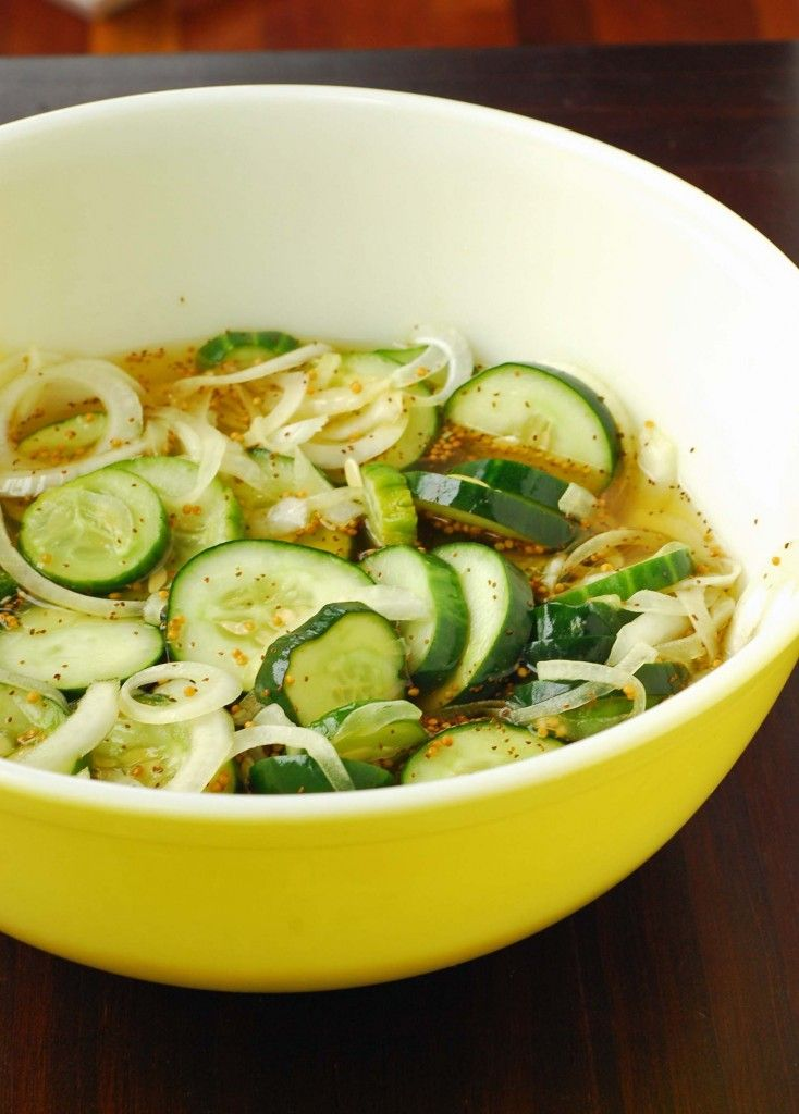 Bread and Butter Pickles by Blissfully Delicious as part of the Friday ...