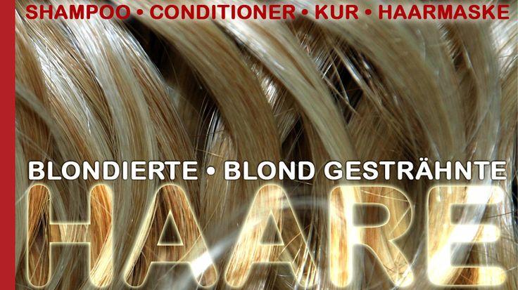 Pflege Produkte für blonde, blondierte und blond gesträhnte Haare.