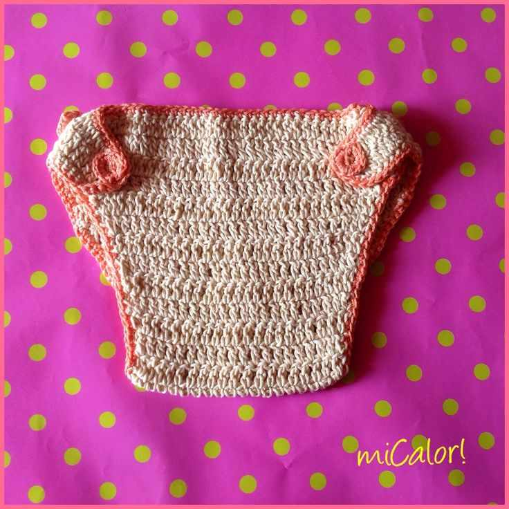 Crochet Baby Girl Diaper Cover by miCalorKnits on Etsy https://www.etsy.com/listing/235469664/crochet-baby-girl-diaper-cover