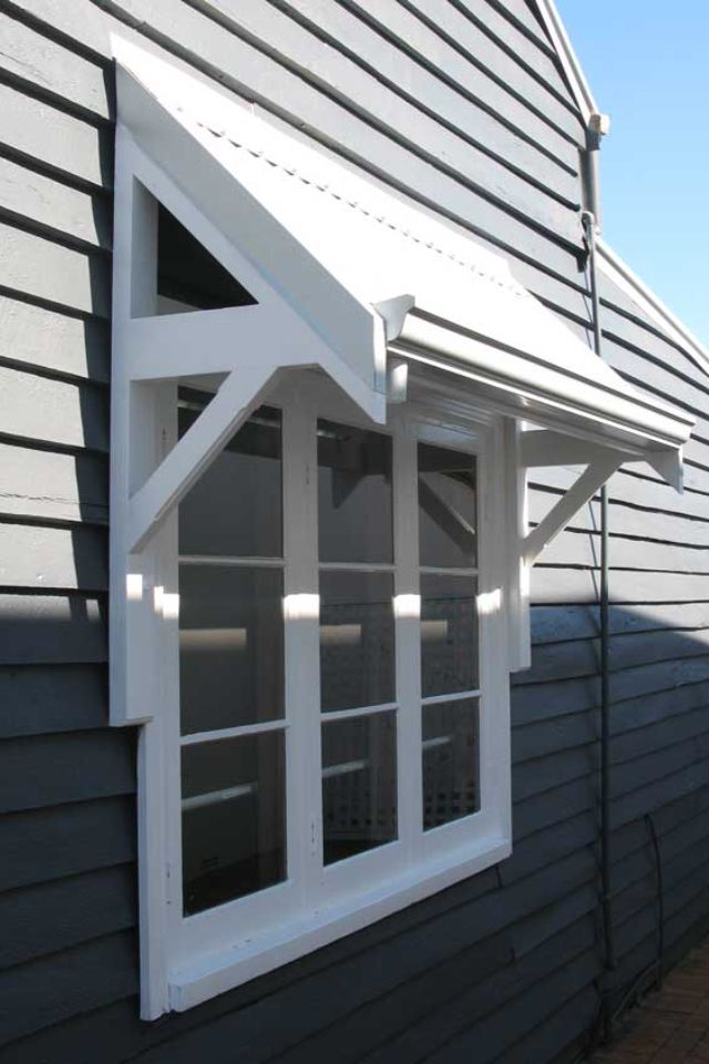 External Awning idea #windowtreatments