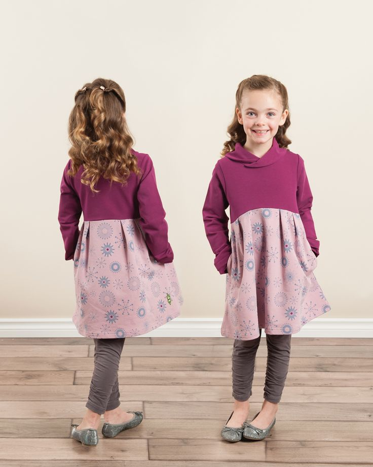 Whole Hearted Dress | Girls - Peekaboo Beans Fall 2016 Collection…