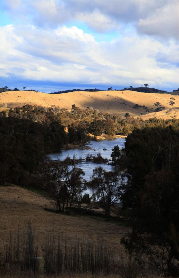 The Murrumbidgee River just outside Canberra ACT Australia
