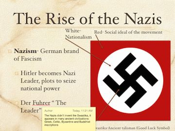 Years of Crisis, Fascism Rises In Europe, Swastika, Mr. Harms PowerPoint/Keynote Presentation for the textbook: World History, Patterns of Interaction