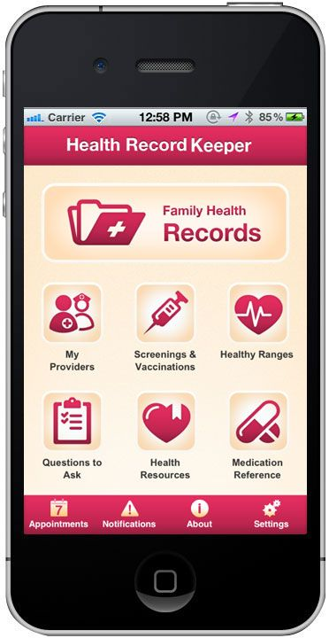 passport to good health app  --  found at http://www.healthywomen.org/ content/article/health-record-keeper-vaccinations-tracker-app-here?context=ages-and-stages/10368_title=_description=