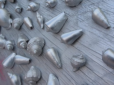 Life in Rehab: Shell We Continue?  spray paint seashells