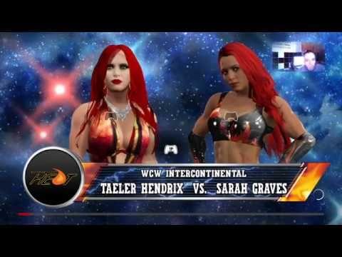 WWE2K17-DIVAS UNIVERSE-HEAT-STEEL CAGE-INTERCONTINENTAL TITLE MATCH-TAEL...