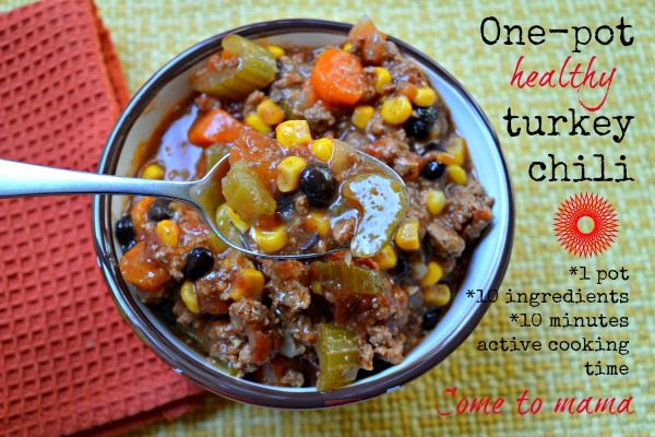 ... Crock pot chili on Pinterest | Slow cooker turkey, Turkey chili and