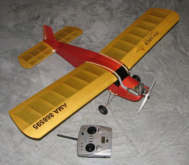 Invader   from Aeroflyte  1962   50in span