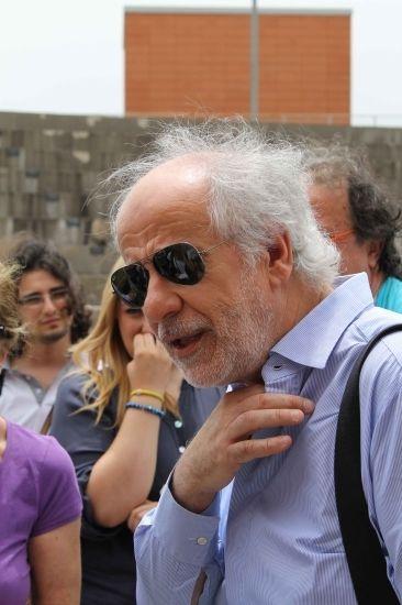 Servillo all'Unical: le foto dell'attore da Oscar nel campus - IlQuotidianodellaCalabria