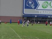 Odell Beckham Jr. Goes One-Handed In Giants Camp (Video)