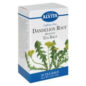 Dandelion Tea promotes in weight loss, rejuvenation, detoxification; digestive, liver, kidney,  skin supplements.