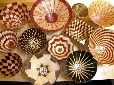 Segmented wood turning - what an art form! Check out Wood Turners Finish at www.generalfinishes.com