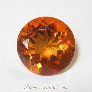 Round Madeira Orange Citrine 2.47 carat